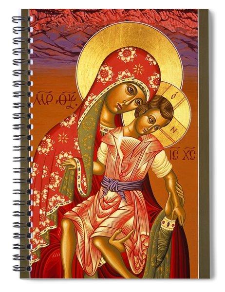 Nuestra Senora De Las Sandias 008 Spiral Notebook