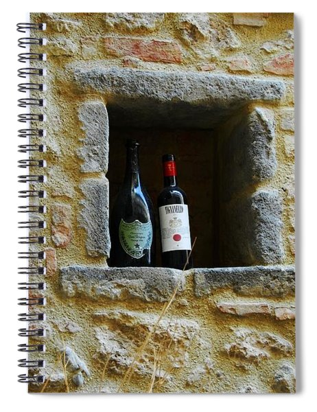 Spiral Notebook featuring the photograph Number 19 by Mel Steinhauer