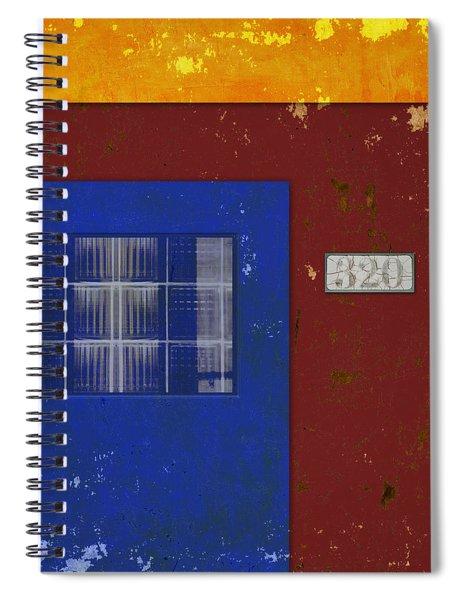 Number 320 Spiral Notebook