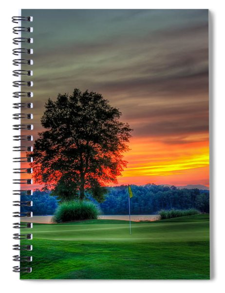 Number 4 The Landing Reynolds Plantation Art Spiral Notebook