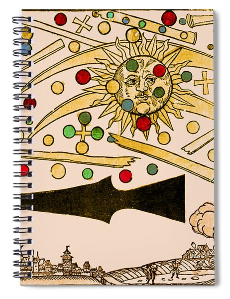 Nuremberg Ufo 1561 Spiral Notebook
