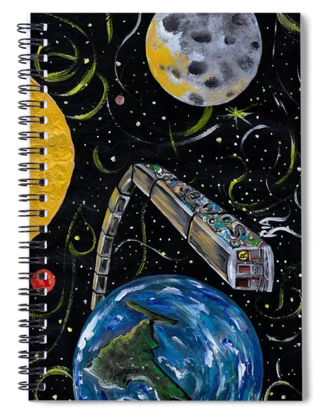 Ny State Of Mind Spiral Notebook