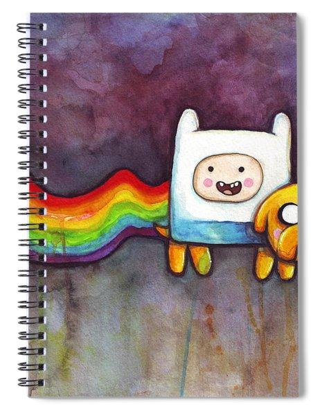 Nyan Time Spiral Notebook