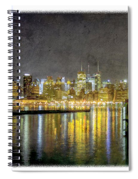 Nyc At Night Spiral Notebook
