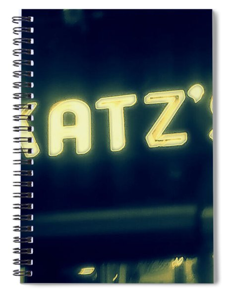 Nyc's Famous Katz's Deli Spiral Notebook