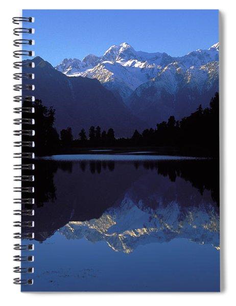 New Zealand Alps Spiral Notebook