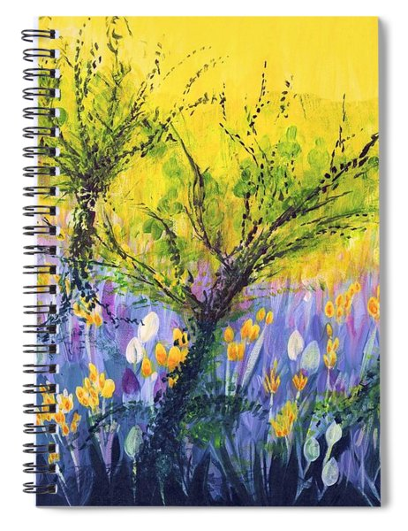 O Trees Spiral Notebook