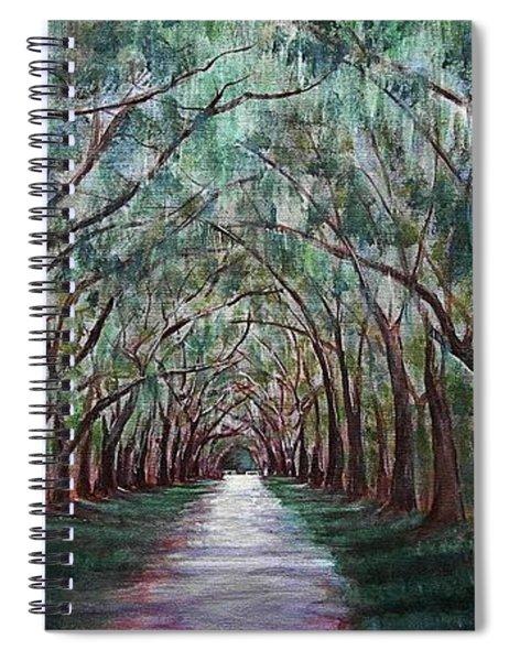 Oak Avenue Spiral Notebook