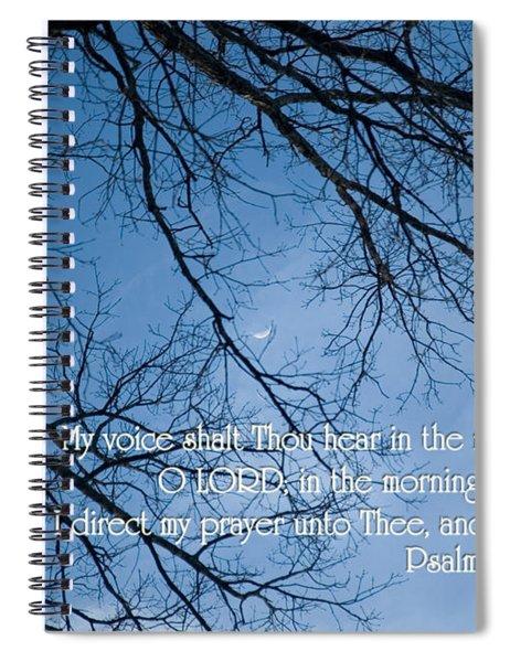 Oak Tree Psalm Spiral Notebook