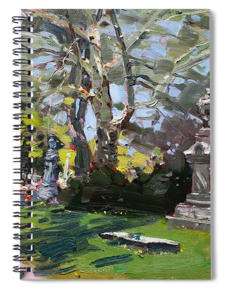 Oakwood Cemetery Spiral Notebook
