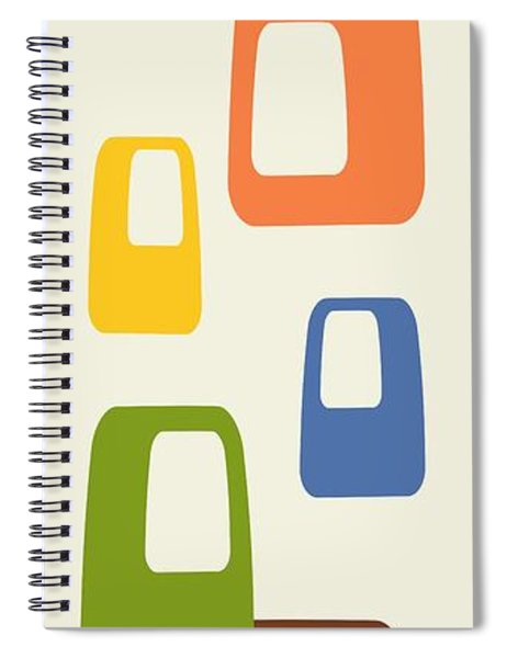 Oblongs Spiral Notebook