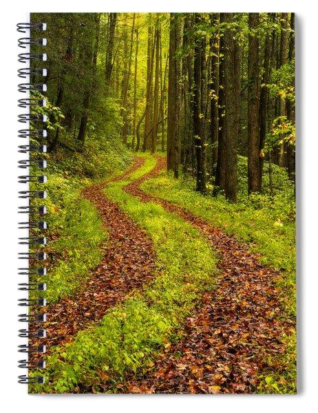 Obscured Spiral Notebook