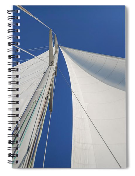 Obsession Sails 1 Spiral Notebook