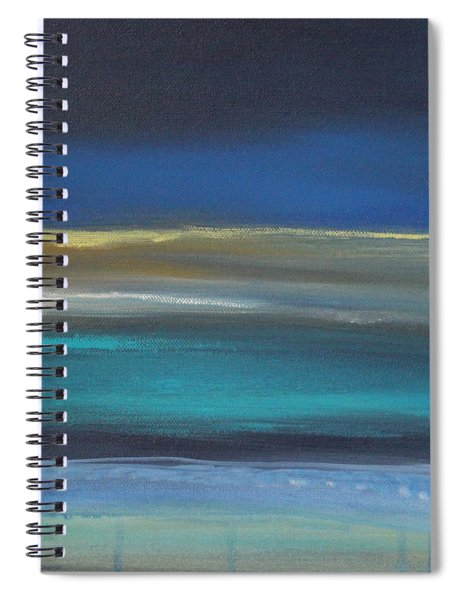 Ocean Blue 2 Spiral Notebook