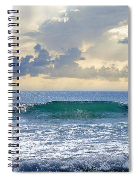 Ocean Blue Spiral Notebook