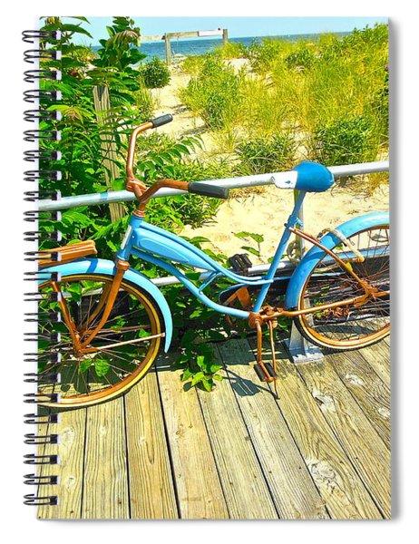 Ocean Grove Bike Spiral Notebook