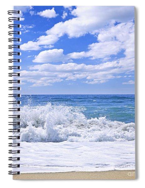 Ocean Surf Spiral Notebook