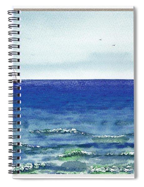 Ocean View Window Spiral Notebook