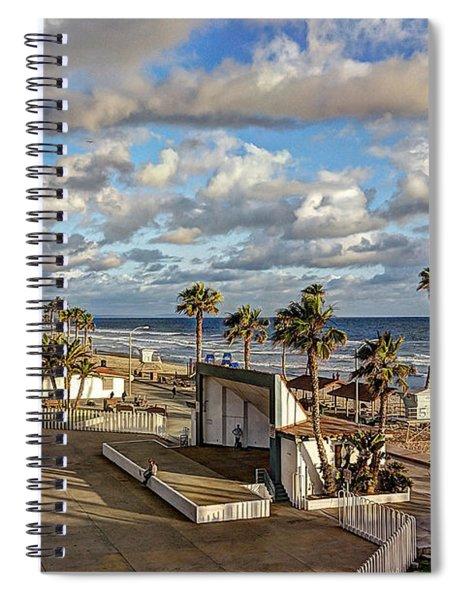 Oceanside Amphitheater Spiral Notebook