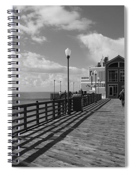 Oceanside Pier Spiral Notebook