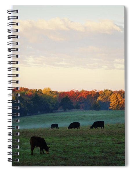 October Morning Spiral Notebook