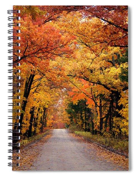 October Road Spiral Notebook