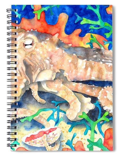 Octopus Delight Spiral Notebook