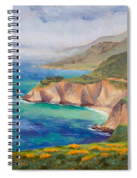 Ode To Big Sur Spiral Notebook