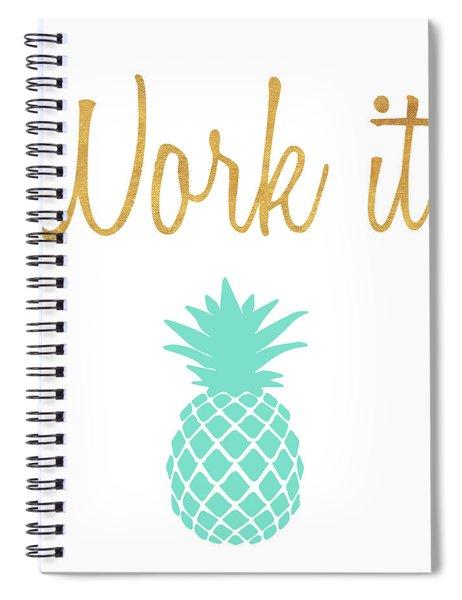 Office Pop II Spiral Notebook