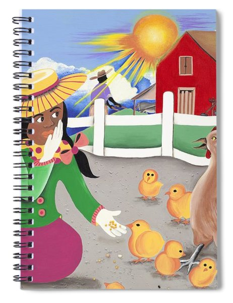 Oh Chick Spiral Notebook