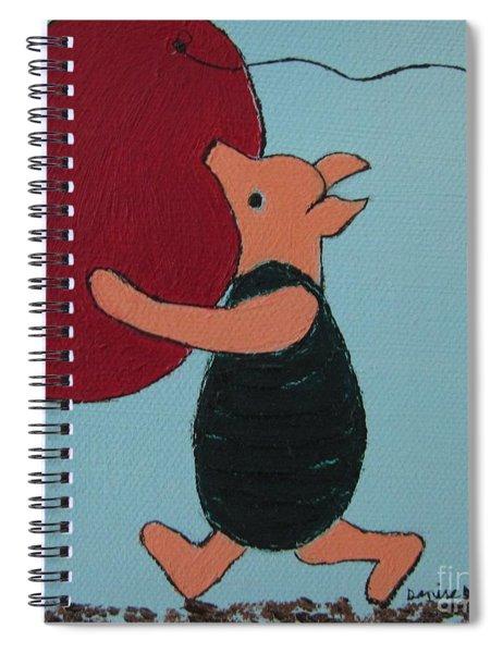 Oh Dear Dear Spiral Notebook