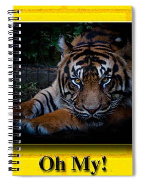 Oh My Spiral Notebook by Robert L Jackson