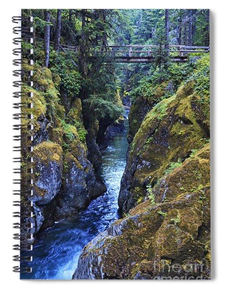 Ohanapecosh River Spiral Notebook