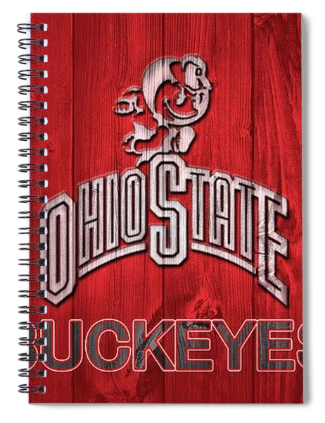 Ohio State Buckeyes Barn Door Spiral Notebook