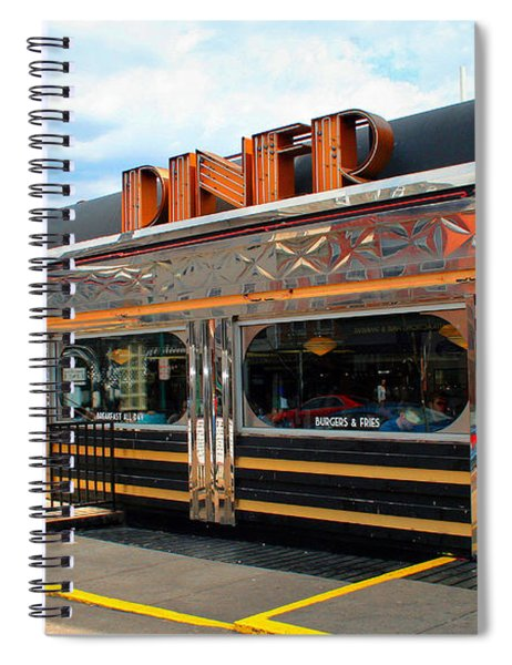 Ohio University Court Street Diner Spiral Notebook