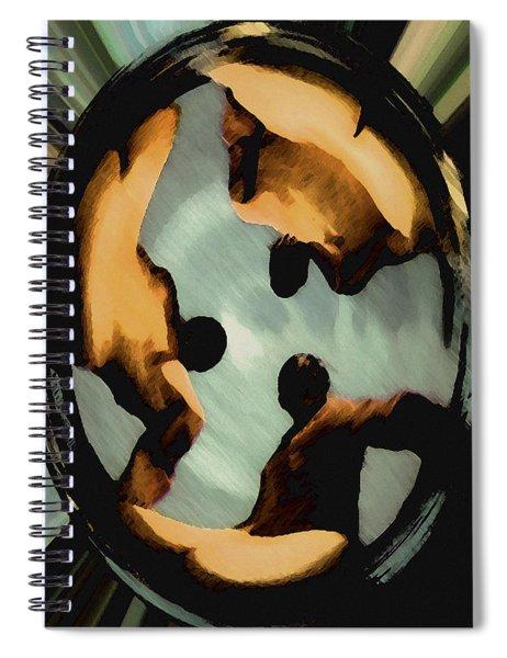 Ohm Spiral Notebook