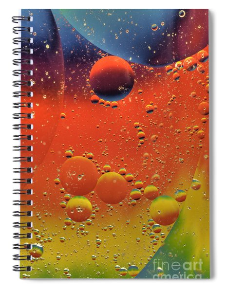 Oil And Water Spiral Notebook