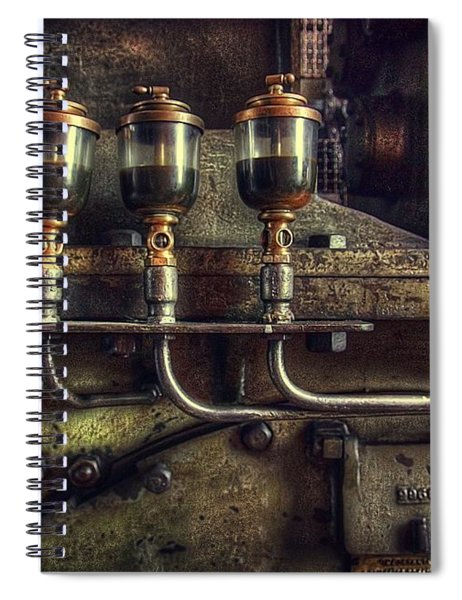 Oil Valves Spiral Notebook