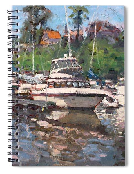 Olcott Yacht Club Spiral Notebook