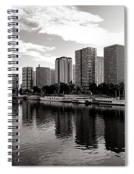 Old And New Paris Spiral Notebook