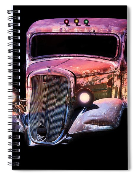 Old Antique Classic Car Spiral Notebook