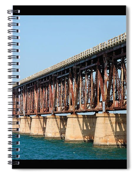Old Bahia Honda Bridge 2 Spiral Notebook