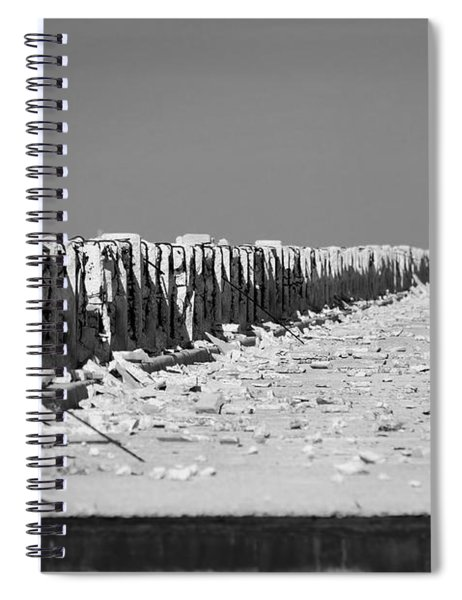 Old Bahia Honda Bridge Spiral Notebook