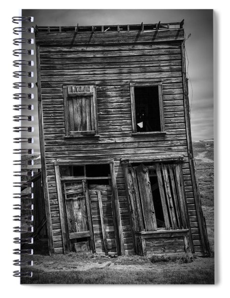Old Bodie Building Spiral Notebook