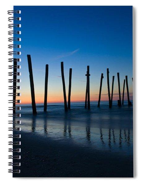 Old Broken 59th Street Pier Spiral Notebook