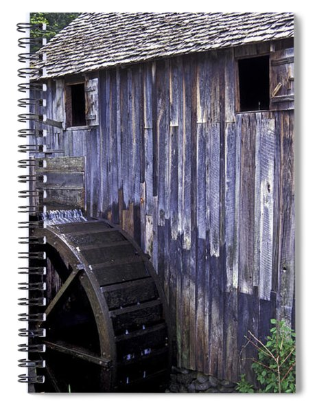 Old Cades Cove Mill Spiral Notebook