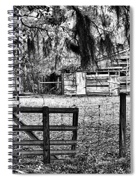 Old Chisolm Island Barn Spiral Notebook