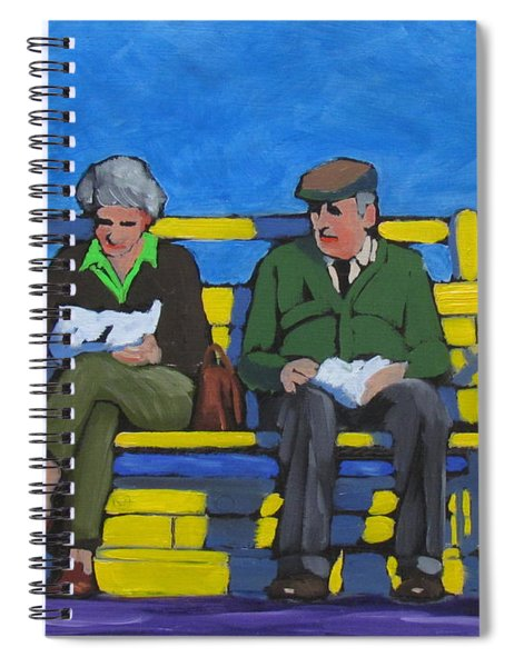 Old Couple Spiral Notebook