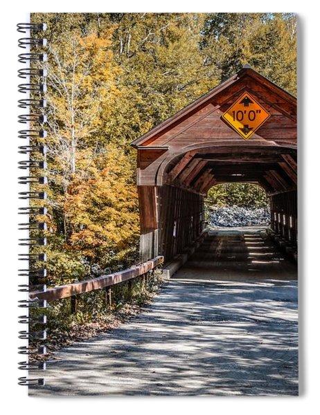 Old Covered Bridge Vermont Spiral Notebook