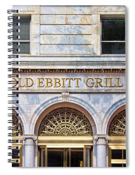 Old Ebbitt Grill Spiral Notebook